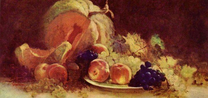Nicolae Grigorescu - Natura statica cu fructe